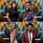 Boma, Tega, Peace, Michael Reveal Housemates With Real Relationship