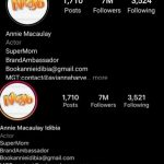 """Annie Adds """"Idibia"""" To Her Instagram Bio After Initially Removing It And Reverting To Her Maiden Name"""