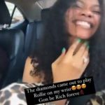 Jane Mena Flaunts Wedding Ring To Counter Tonto Dikeh's Claim Of Begging For Her Marriage To Be Saved.